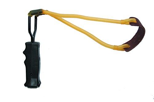 Jehn - Pelota de Caza (23 cm), Color Negro y Amarillo