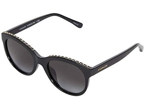 Gafas de Sol Coach HC 8297U Black/Grey Shaded 52/19/140 mujer
