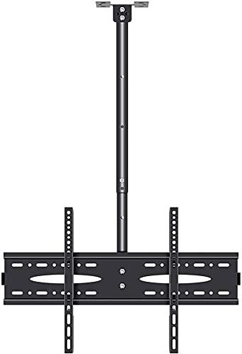 TabloKanvas Soporte giratorio para TV de techo con inclinación y rotación para la mayoría de televisores LED LCD de 40 a 70 pulgadas (tamaño: 2,5 metros)