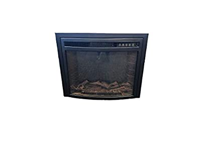 Tiara EF-30A 23in. LED Electric Fireplace Curved Front w/Remote