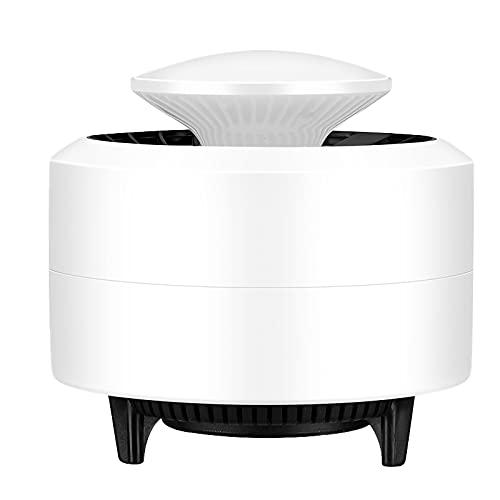 Camidy Lámpara eléctrica para asesino de mosquitos, trampa LED para mosquitos, funciona con USB, para casa, cocina, oficina