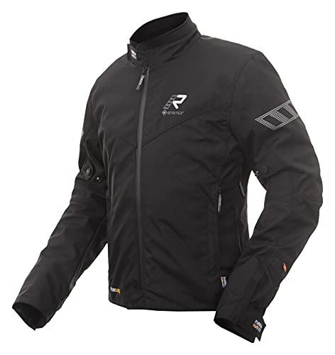 Rukka Start-R Chaqueta textil para motocicleta, color negro, 50