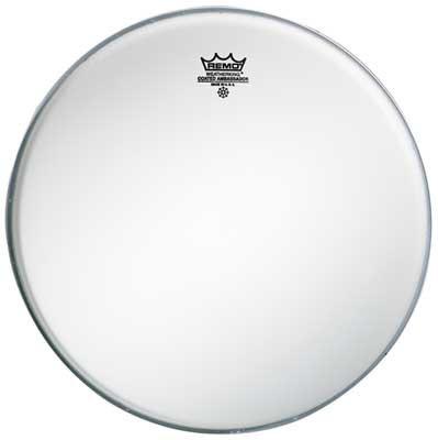 """Remo Schlagzeugfell Drum Head Ambassador Weiss aufgeraut, coated 10"""" BA-0110-00"""
