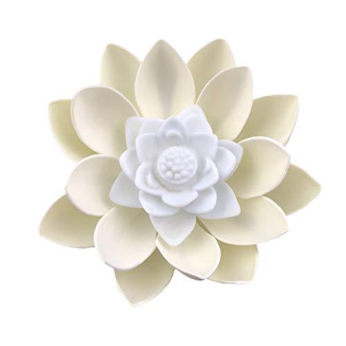 Preisvergleich Produktbild WuLi77 Kreative LED Lotus Blume Lampe Nachtlicht für Mitte Herbst Festival Schlafzimmer Home Dekoration Segen Requisiten