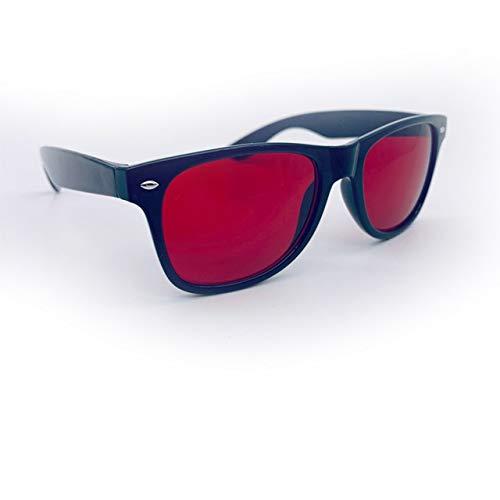 Rot Grün Color Blind Korrektive Brillen Farbenblindheit Brillen Frauen Männer Colorblind Führerschein Brillen, universell verwendbar for Farbunterscheidungs (Color : B)
