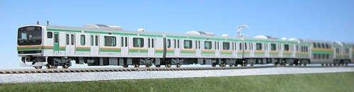 Kato serie E231 especificacioen de la linea Tokaido (Shonan-Shinjuku Line)