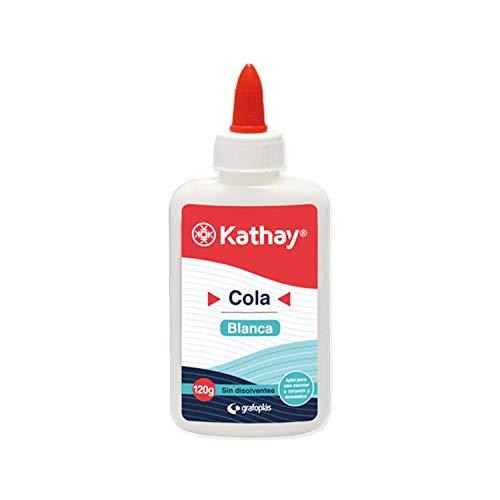 Kathay Cola Blanca, Secado Transparente, 120 Gramos
