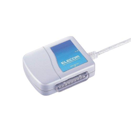 ELECOM ゲームパッドコンバータ USB接続 プレステ/プレステ2コントローラ対応 1ポート JC-PS101USV