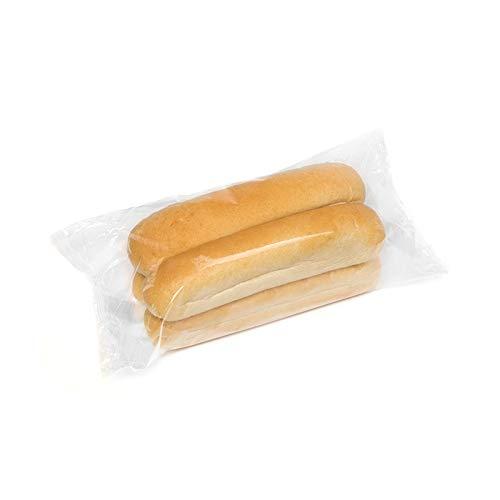 HOT DOG WORLD - Jumbo Hot Dog Brötchen 4 Stück, vorgeschnitten