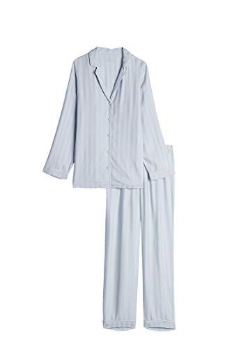 Intimissimi Damen Pyjama aus gestreiftem Modal