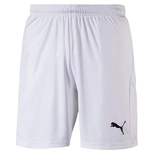 PUMA Herren LIGA Shorts Core White Black, S