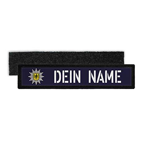 Copytec Patch Namens-Schild BPOL Klett Streifen Uniform Bundes-Polizei Namen #34950