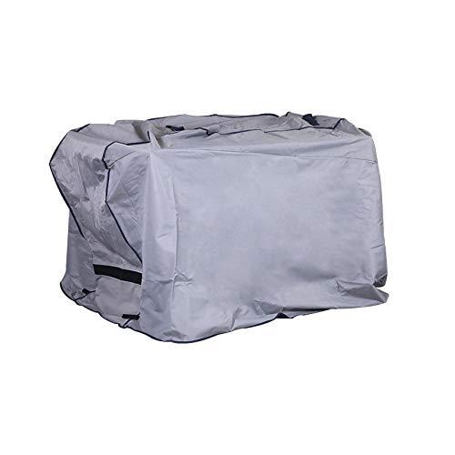 SlimpleStudio Copertura Impermeable para Mesas Rectangular,Cubierta Impermeable para Horno al Aire Libre Tela Oxford Cubierta de Muebles a Prueba de Polvo Cubierta de Aire Acondicionado Polvo
