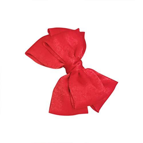 TianMeng Haar-Clips Niedlich Schleife Haarclips/Haarspangen Haarschmuck Ribbon Haar-Clips Für Mädchen Haarschleifen Clip für Frauen elegante handgemachte Stoff Haarspangen Haarspangen