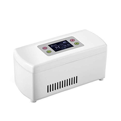 ZYFA Draagbare koelbox voor medicijnen, mini-intelligente auto-koelkast, gekoelde doos, temperatuurregeling