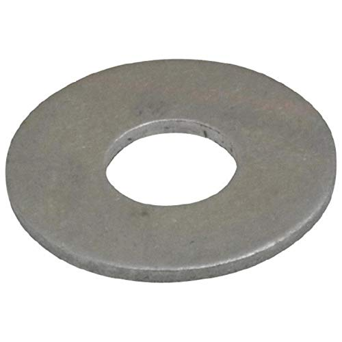 POP, ABUP 1/8 Back-Up Washer 1/8 Inch, 0.129 Inch ID x 0.375 Inch OD x 0.048 Inch Thick, Alum, Plain (100 PK)