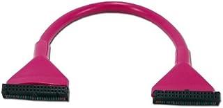 QVS CC2205PR10 10 in. 3.5 in. Floppy Single Drive Purple Round Internal Cable