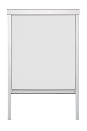 Lichtblick DRS.CK04.01 Dachfensterrollo Skylight, Thermo, Verdunkelung Weiß, 38,3 x 80 cm (CK04) (B x L)