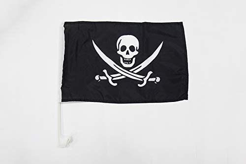 Az Flag -   Autofahne Pirat