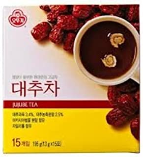 Korean tea powder - 13 g X 15 bags. (Jujube)
