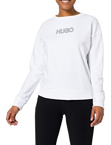 HUGO Damen Nakira_3 10227359 01 Sweatshirt, White100, L