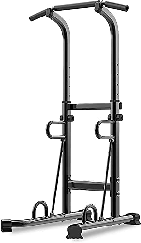 WXking Equipo de Inicio Multifuncional Squat Rack Pull Up Station Barbell Rack Ajustable Squat Stands Power Peso Banco Soporte Levantamiento de Peso Equipo de Ejercicio Barbell Rack MAX.Load 250 kg ✅