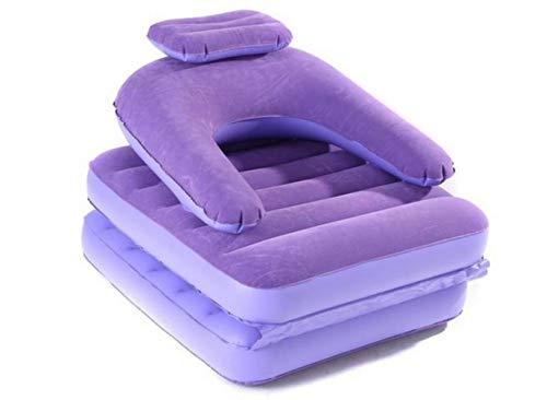 Clkdasjd Luftstuhl, aufblasbar, Violett / Pink violett