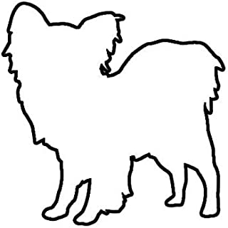 ION Graphics Papillon Sticker Decal Vinyl Dog Canine pet 5