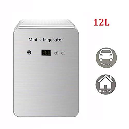YUHEN Mini Nevera eléctrica Nevera eléctrica, Mini Bar de 12L, congeladores portátiles...