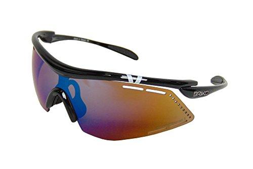 Briko Herren Endure PRO Team 2 Lenses Brille, 953 black-PM3P1, One Size