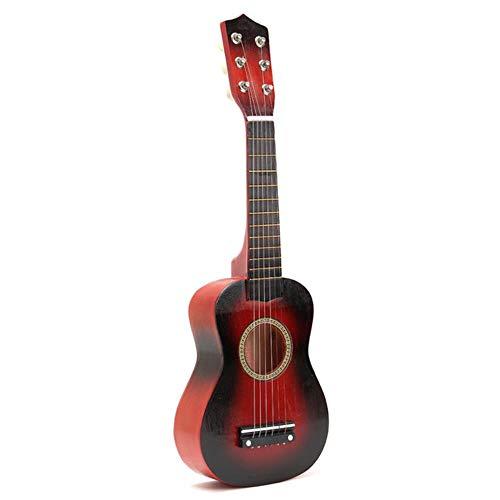 ZFZFZF Práctica ukelele guitarra popular niños instrumentos musicales música educación temprana música guitarra regalo ukelele 105/5000 China Red