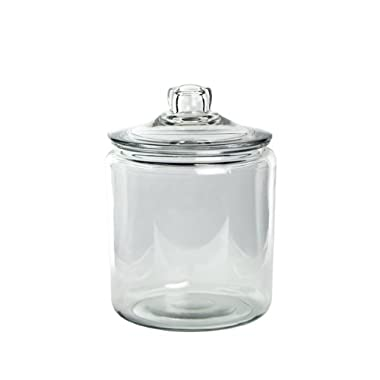 Syndicate Sales 1 Gallon Cylinder Terrarium w/ Lid, Clear
