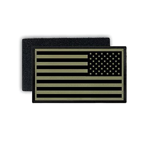 Copytec EOD Kampfuniform USA Flaggen Patch Aufnäher Kabul K&uz 7,5x4,5#37569