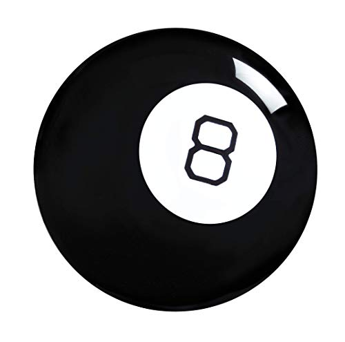 Mattel Games- Magic 8 Ball Gioco con 20 Risposte Possibili Giocattolo per Bambini 6+ Anni, GNP88
