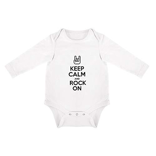 DKISEE Mono de bebé de algodón Suave, de Manga Larga, Triangular, para bebés de 0 a 24 Meses Blanco Patrón 38 2 Mes