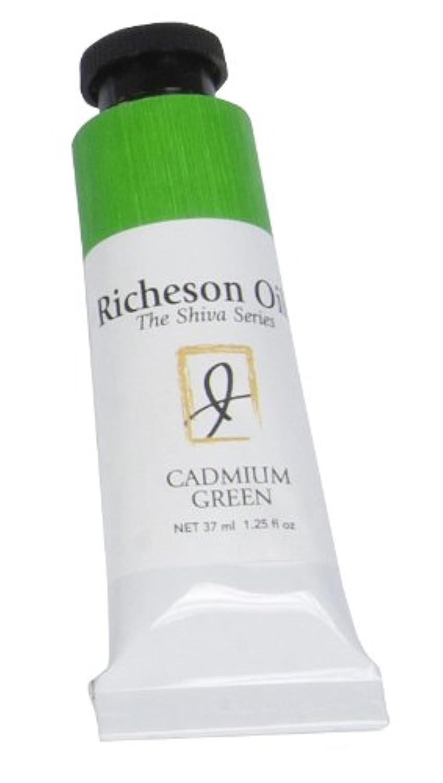 Jack Richeson 120047 Artist Oil Colors, 37 mL, Cadmium Green
