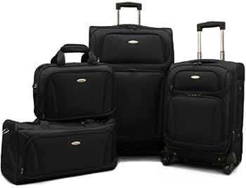 American Tourister Premium 4-Piece Lightweight Luggage Set