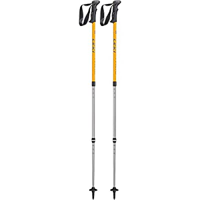 Leki Trail Poles-Anthracite/White/Green, Size 69-140