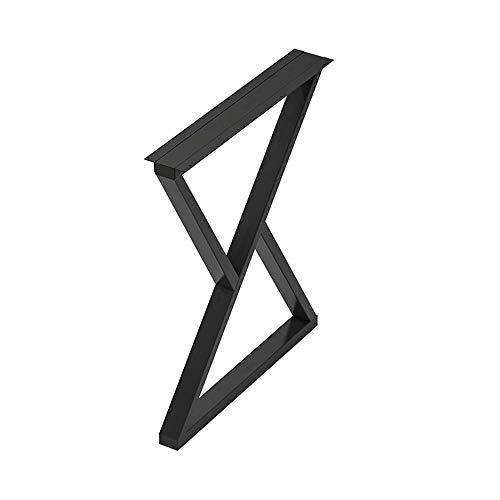 Pied de Table de Bar Simple, Pied de Support de Meuble en métal, Noir , Or, Hauteur 70 cm / 100 cm, utilisé pour Table à Manger, Bureau, Table Basse, comptoir de Bar