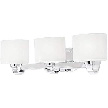 Kichler Lighting 3 Light Chrome Standard Bathroom Vanity Light Amazon Com