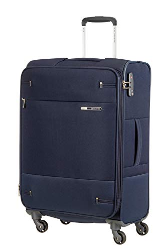 Samsonite Base Boost Spinner M Maleta Expansible, 66 cm, 67.5/73.5 L, Azul...