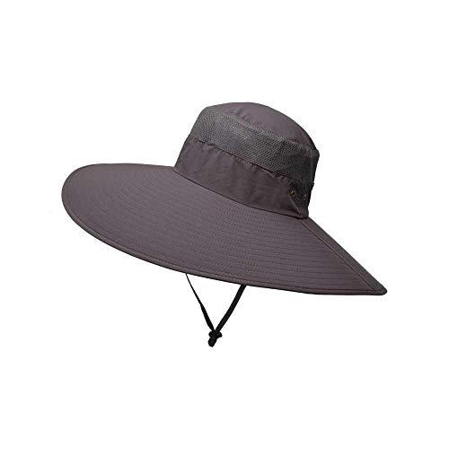 SUNASQ - Angel-Kopfbedeckungen in rot grau, Größe M