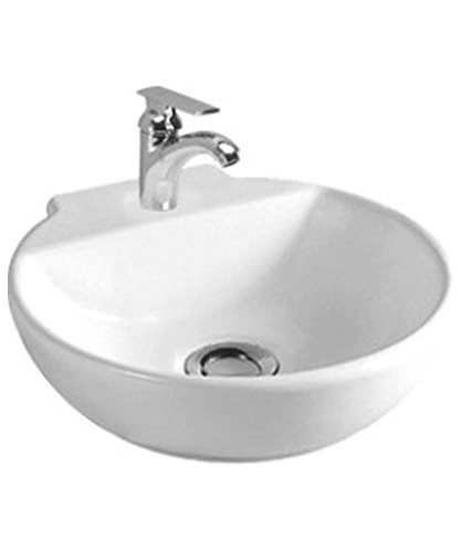 Cera 1083 Table Top Basin Chason (300 x 310 mm, White)