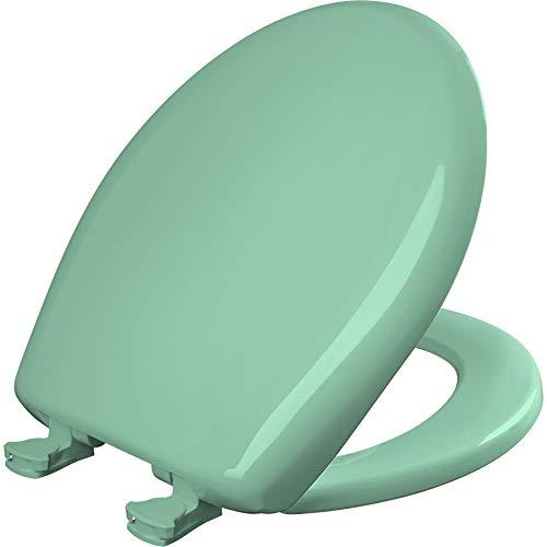 Bemis 200SLOWT 165 Toilet Seat, Round, Ming Green