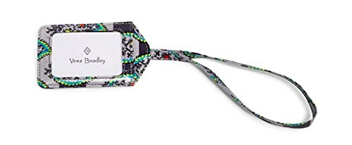 Vera Bradley Iconic Luggage Tag in Paisley Stripes