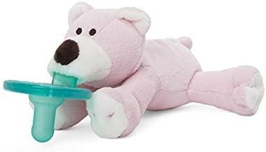 WubbaNub Pink Bear Infant Pacifier