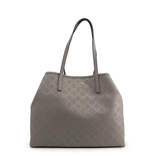 Guess große vikky taupe slouchy Logo Einkaufstasche Taupe Leather