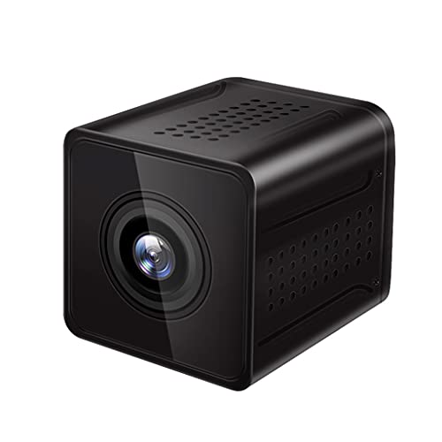 SXYLTNX Mini Cámara WiFi Inalámbrica HD 1080P, Visión Nocturna, Vigilancia por Video, Monitor Remoto, Detección De Movimiento, Micro Videocámara