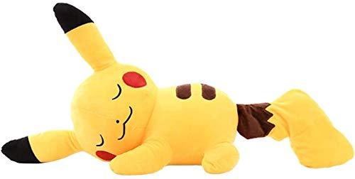 XLBHSH Plüschtier Kuscheltier Pikachu Stofftiere Stofftier Kissen Dekor Geburtstag (30cm-80cm),30cm