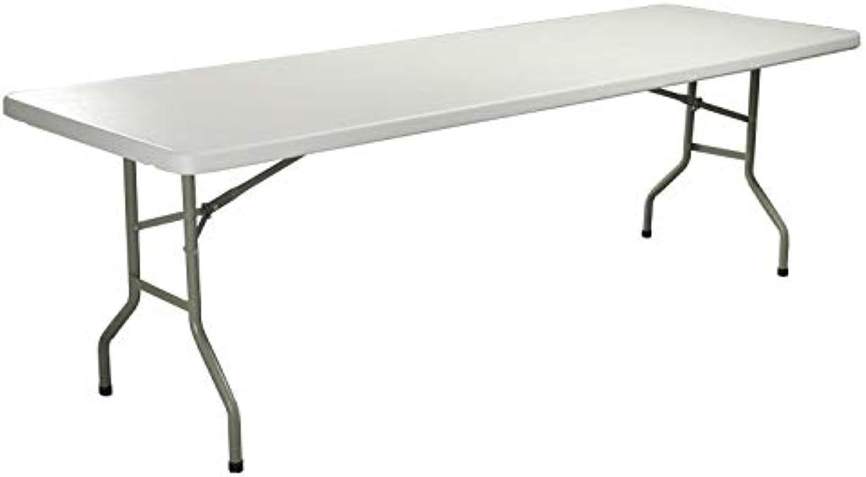 ShiXuan HDPE Kunststoff-Palttisch Falttisch rechteckig für Hotels Restaurant Haus und Outdoor